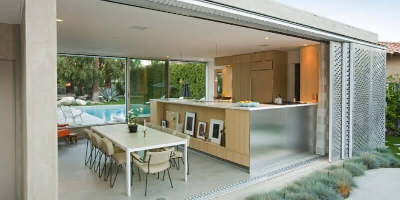 Kitchen Outdoor Construction