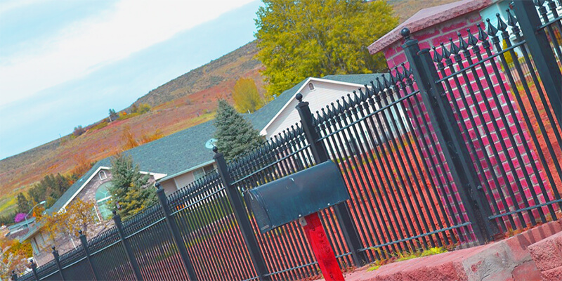 iron fence - Star Gate