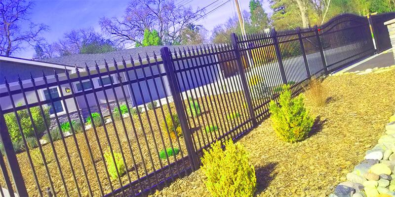 metal fences - Star Gate