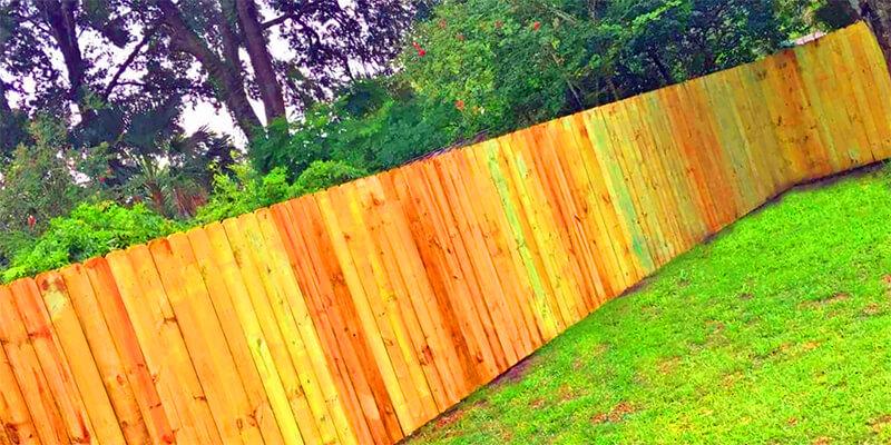 privacy fence - Star Gate