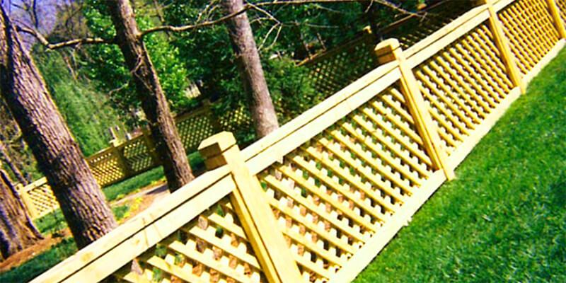 wood fence - Star Gate